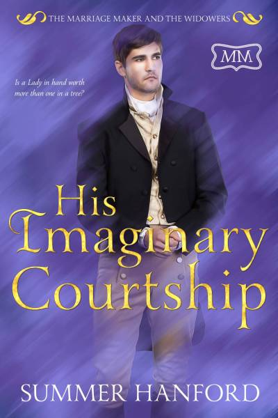 His Imaginary Courtship Ebook Cover Full Size